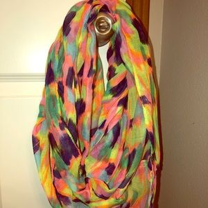 Woke s colorful infinity scarf